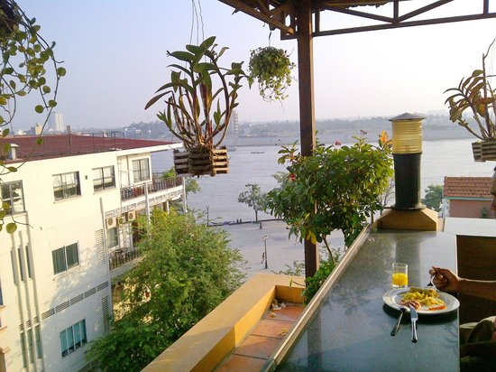 Stunning View While Having Breakfast Roof Top Resto Picture Of
