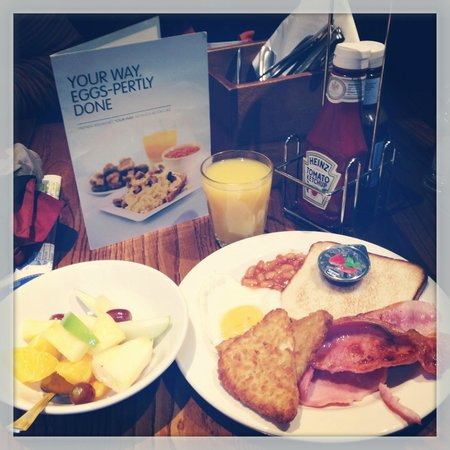 Premier Inn London Blackfriars (Fleet Street) Hotel: petit déjeuner