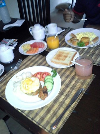 Ashoka Tree Resort Ubud: In house bfast