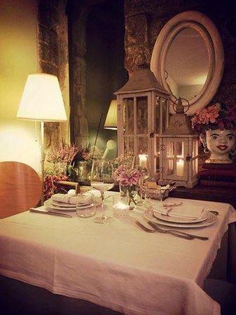 Ristorante Lu Focaro: tavolo romantico...