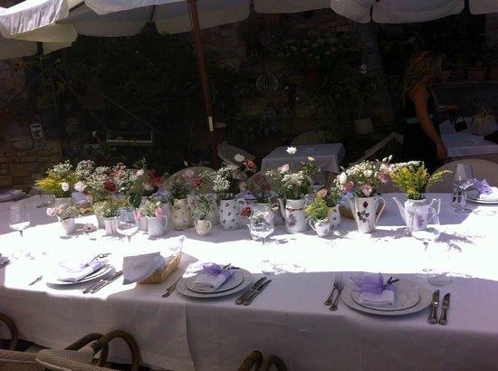 Ristorante Lu Focaro: matrimonio sulla piazzetta