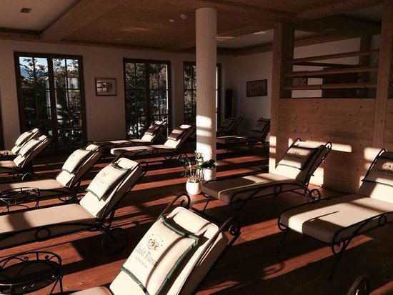 Hotel Chalet Tianes: Area Relax