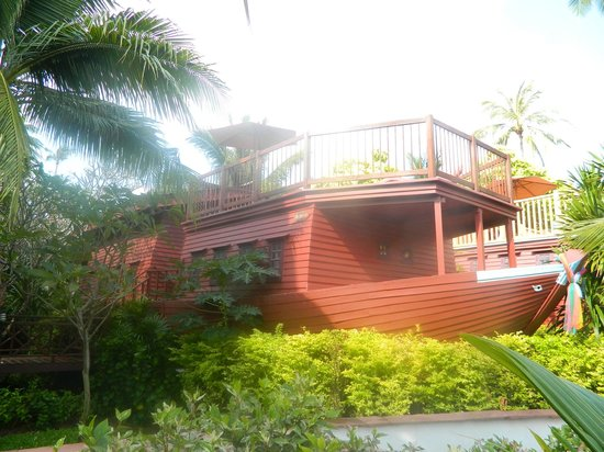 Imperial Boat House Beach Resort: Boat-Haus