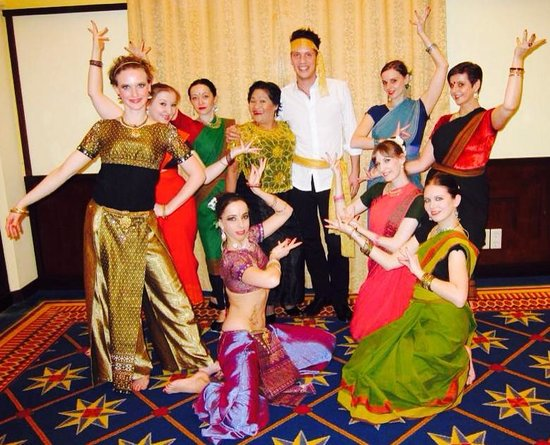 Imperial Riding School Renaissance Vienna Hotel: Bollywood Dancers