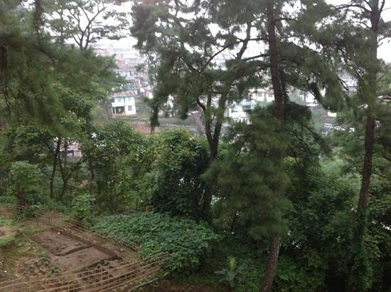 Cafe Shillong HERITAGE: view from the balcony