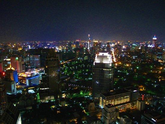 Banyan Tree Bangkok: Views at the top of Banyan Tree 63rd floor!