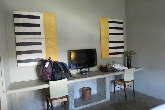 Taru Villas - Lake Lodge : the room