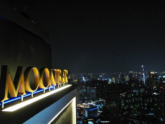 Banyan Tree Bangkok: Moon bar at the top of Banyan Tree