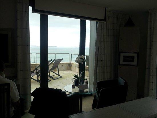 L'Agapa Hotel SPA Nuxe : Vue sur les 7 îles