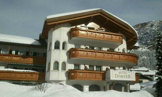 Hotel Dorfer: Viel Schnee im Februar