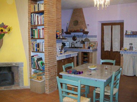 Podere Pagliaore: Leuk appartement, eigenaresse spreekt goed Engels
