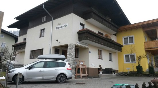 Gotthardt Apartmenthaus: Vooraanzicht