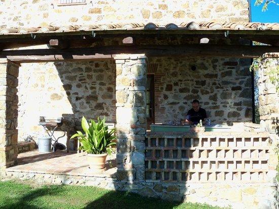 Podere Pagliaore: veranda