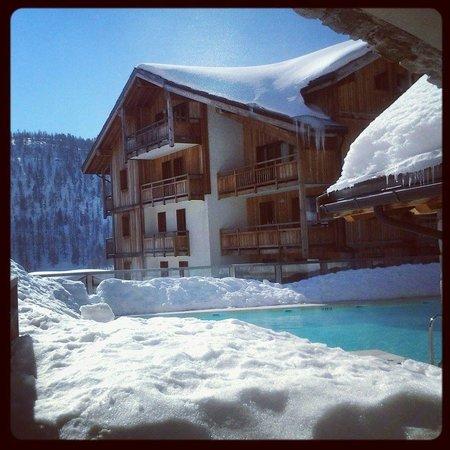 Residence Club mmv Le Hameau des Airelles : piscine