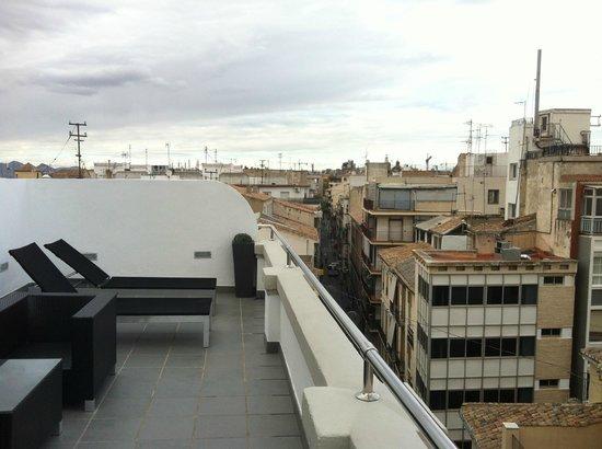 Room Mate Leo: Vista desde terraza superior