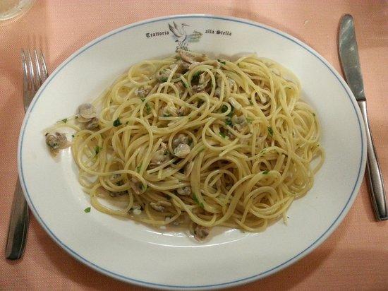 Trattoria alla Stella : Spaghetti vongole