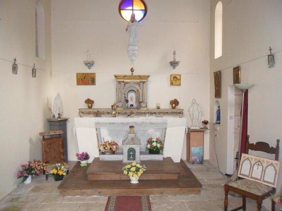 Chateau de la Touche : Sa chapelle consacrée