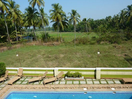 A's Holiday Beach Resort: View from A's