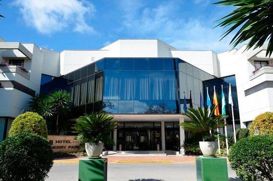 Hipotels Sherry Park: Hotel Entrance