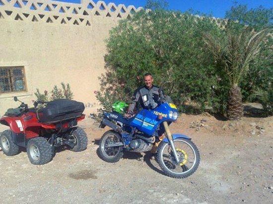 Itrane Sahara: raid à moto