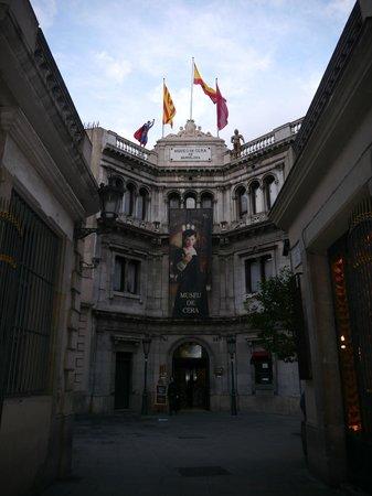 Museu de Cera: Entrance