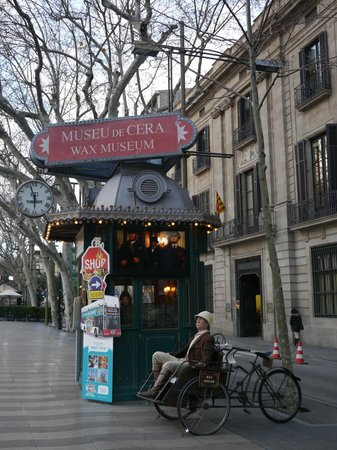 Museu de Cera: Ticket Booth