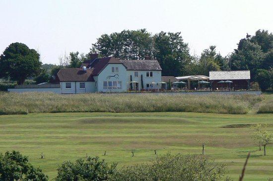 The Black Horse: View from The Avisford Golf Course