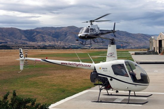 Wanaka Helicopters: Popular place to fly
