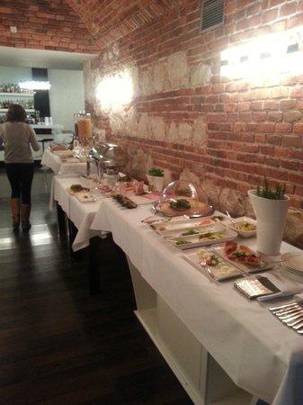 Queen Boutique Hotel : Breakfast Buffet