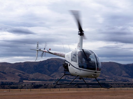 Wanaka Helicopters: Relaxed, helpful instructor