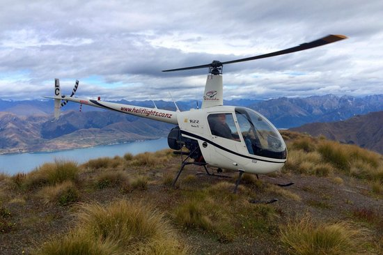 Wanaka Helicopters: Landed on a 3,500ft ridge