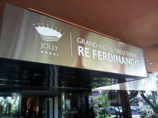 Grand Hotel delle Terme Re Ferdinando: insegna