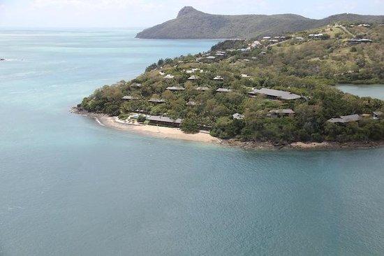 Qualia Resort: Qualia from the air
