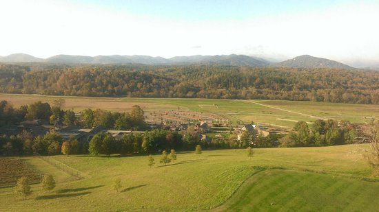 The Inn on Biltmore Estate: View from the room