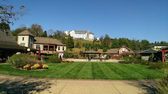 The Inn on Biltmore Estate: View from Antler Village