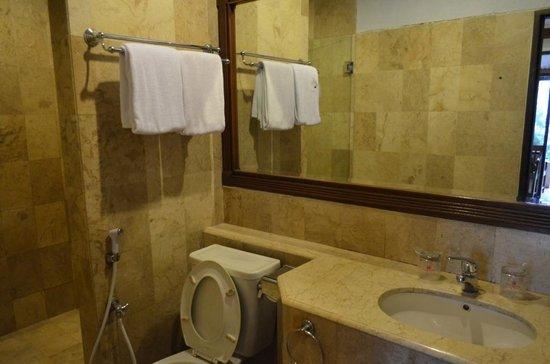 Puncak Pass Resort: Bathroom shower