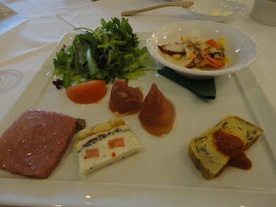 Hotel Shikinokura : 朝食です。
