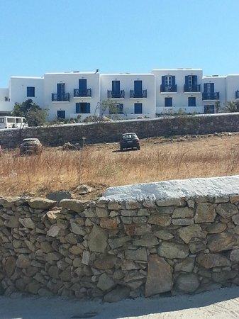 Myconian K Hotels : eines der vier Häuser