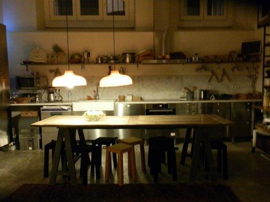 A Casa das Janelas com Vista: desayunador