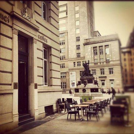 Exterior of Gourmet Coffee