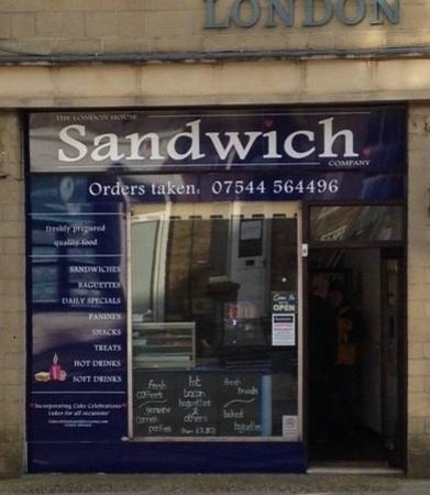 The London House Sandwich Company (Shop Front)