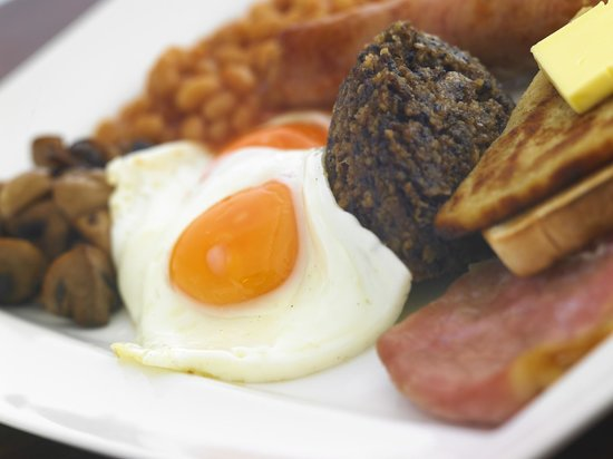 The Gathering Restaurant and Lounge: Traditional Scottish Breakfast