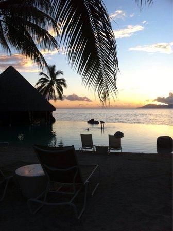InterContinental Tahiti Resort & Spa : Beautiful sunsets