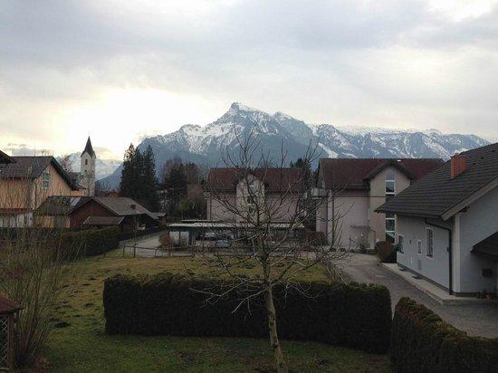 Hotel Frauenschuh : Wunderbarer Bergblick.