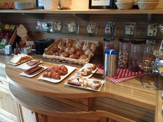 Hotel Frauenschuh : Frühstücksbuffet 1