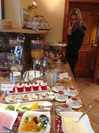 Hotel Frauenschuh: Frühstücksbuffet 2