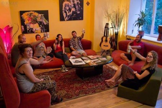 Euphoria Hostel: Good people, good feelings