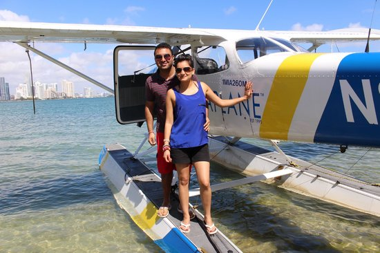 Miami Seaplane Tours : before we got on the plane