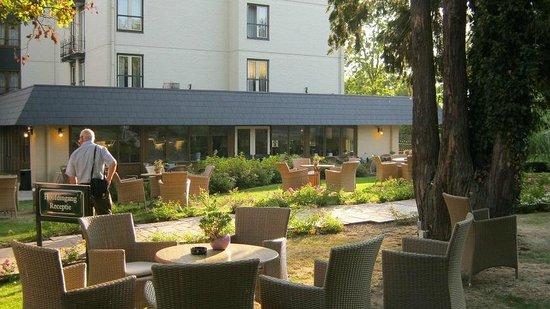 Hotel Schaepkens van St Fijt: El jardín del hotel.