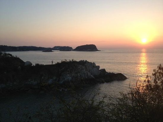 Las Brisas Huatulco: View from our room